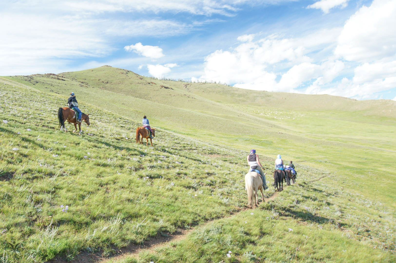 best places to travel alone mongolia horse riding